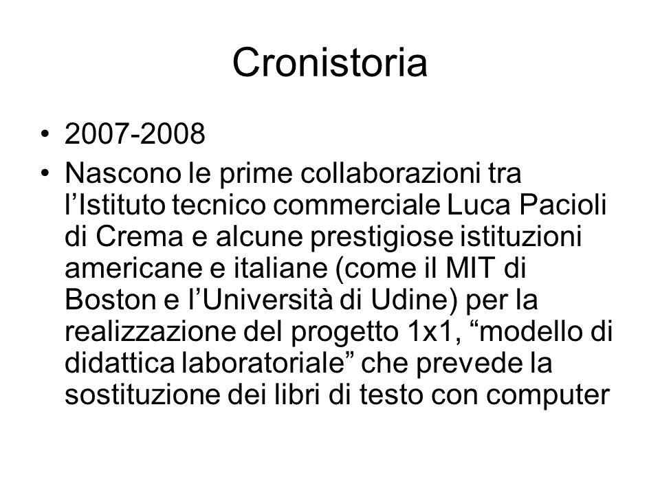 Cronistoria 2007-2008.