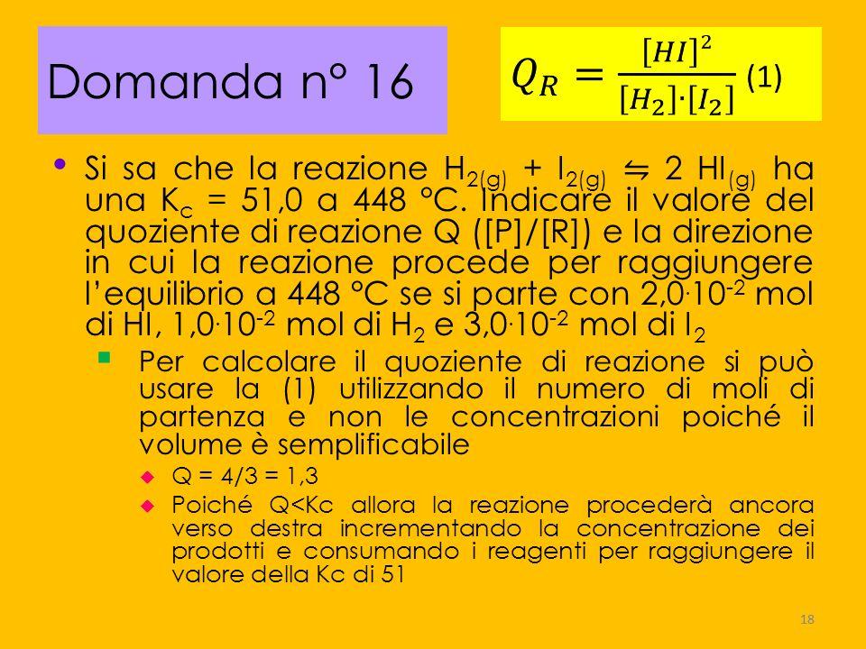 Domanda n° 16