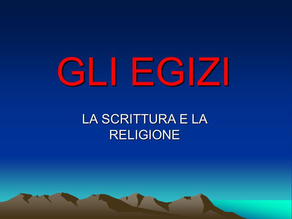 LA SCRITTURA E LA RELIGIONE