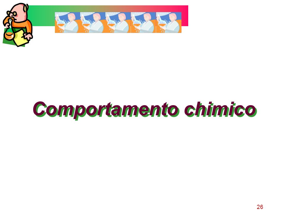 Comportamento chimico