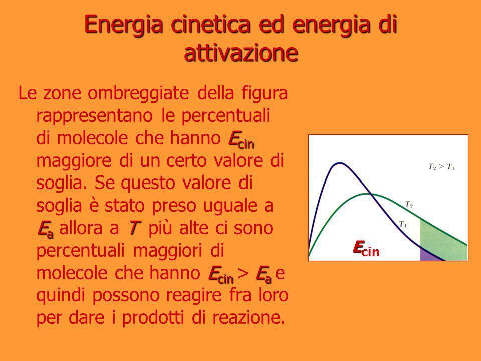 Energia cinetica ed energia di attivazione