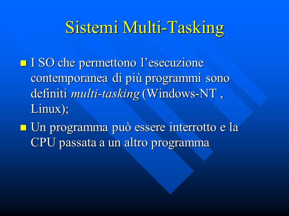 Sistemi Multi-Tasking