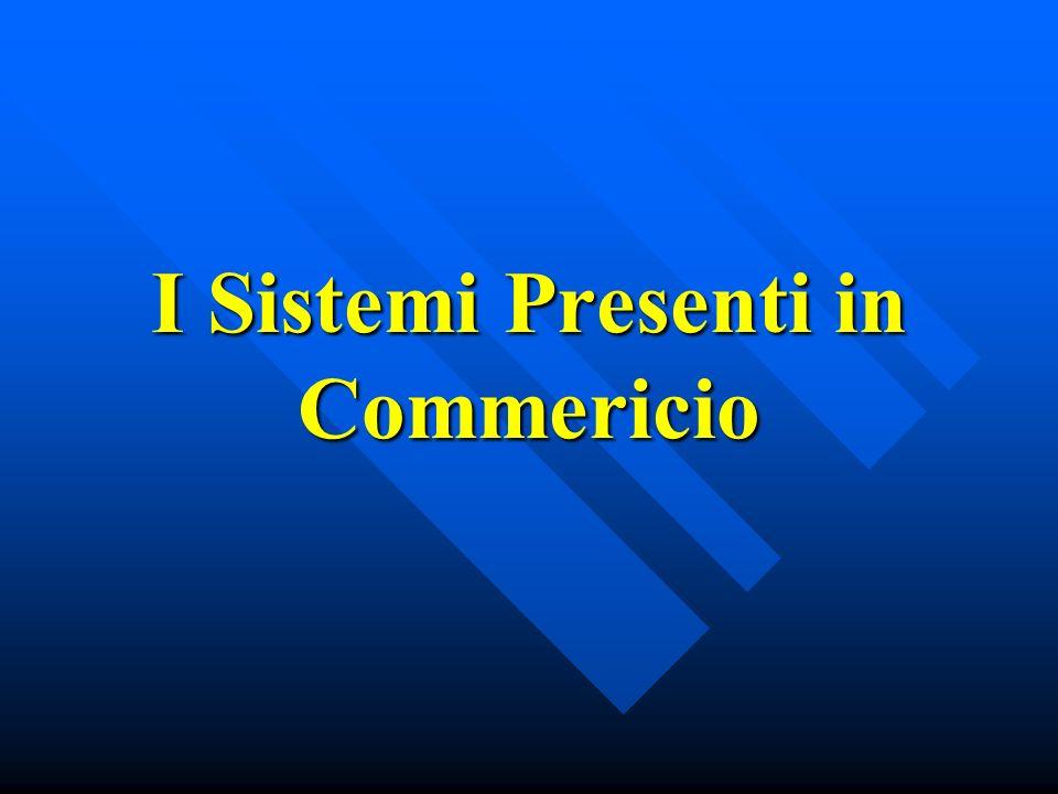 I Sistemi Presenti in Commericio