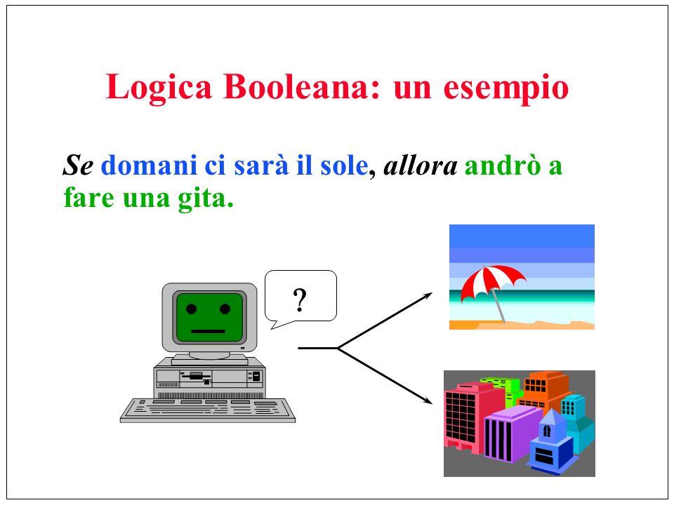 Logica Booleana: un esempio