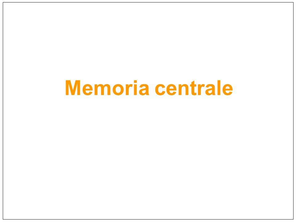 Memoria centrale