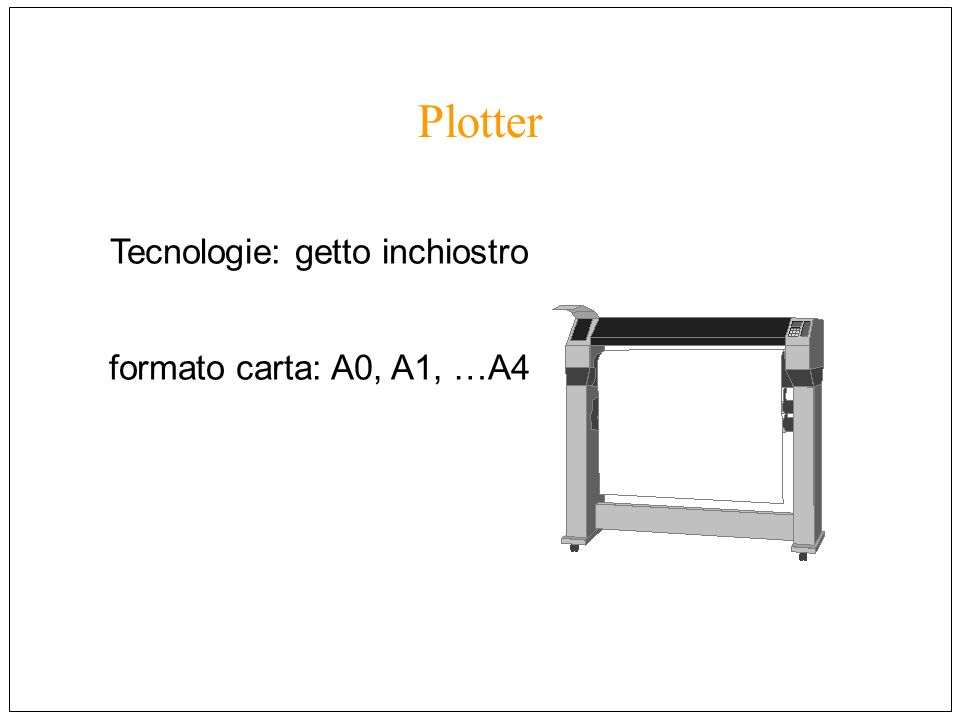 Tecnologie: getto inchiostro