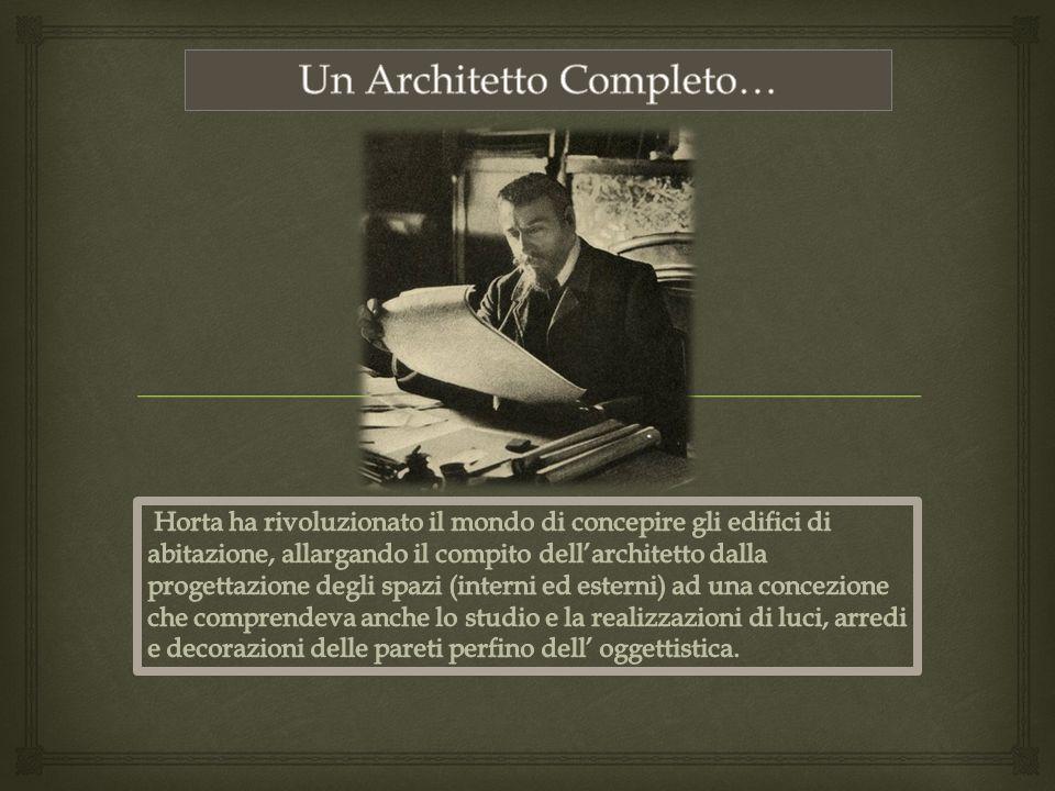 Un Architetto Completo…