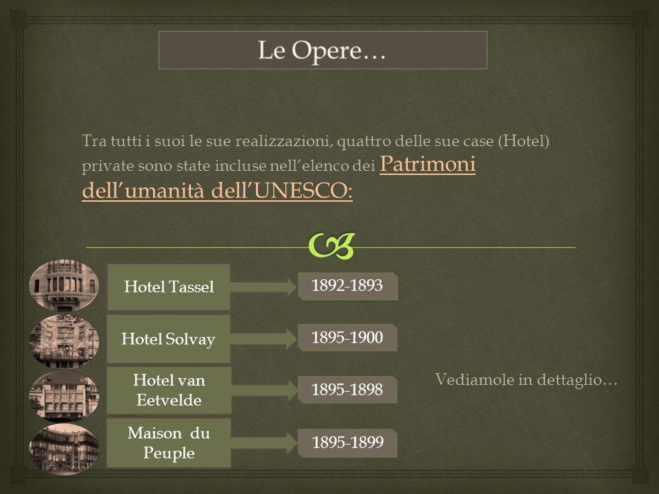 Le Opere…