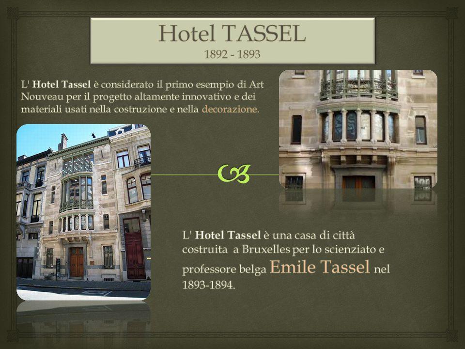 Hotel TASSEL 1892 - 1893.