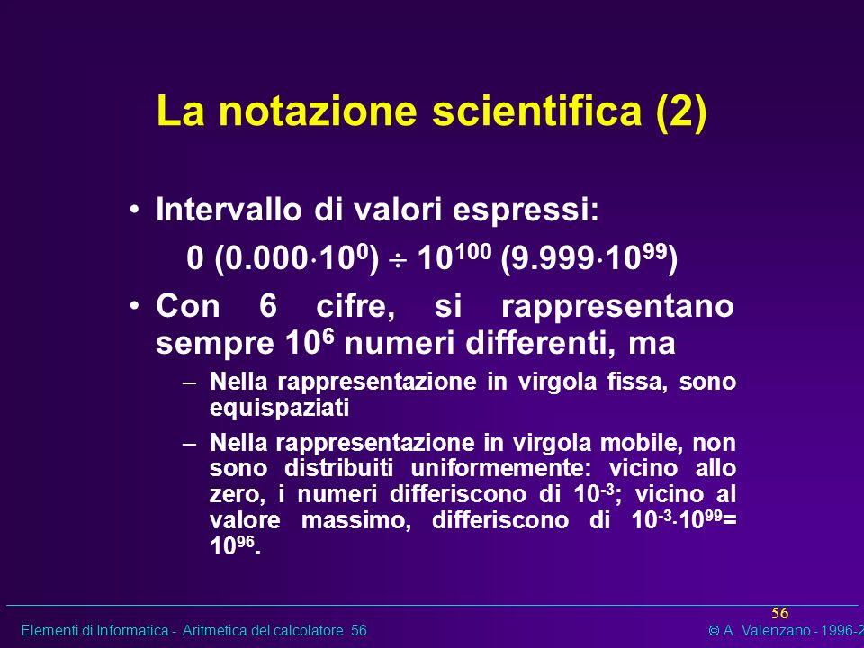 La notazione scientifica (2)