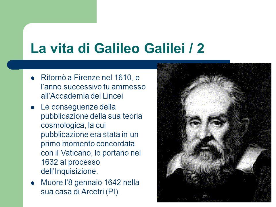 La vita di Galileo Galilei / 2