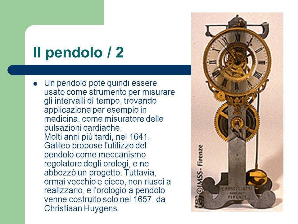 Il pendolo / 2