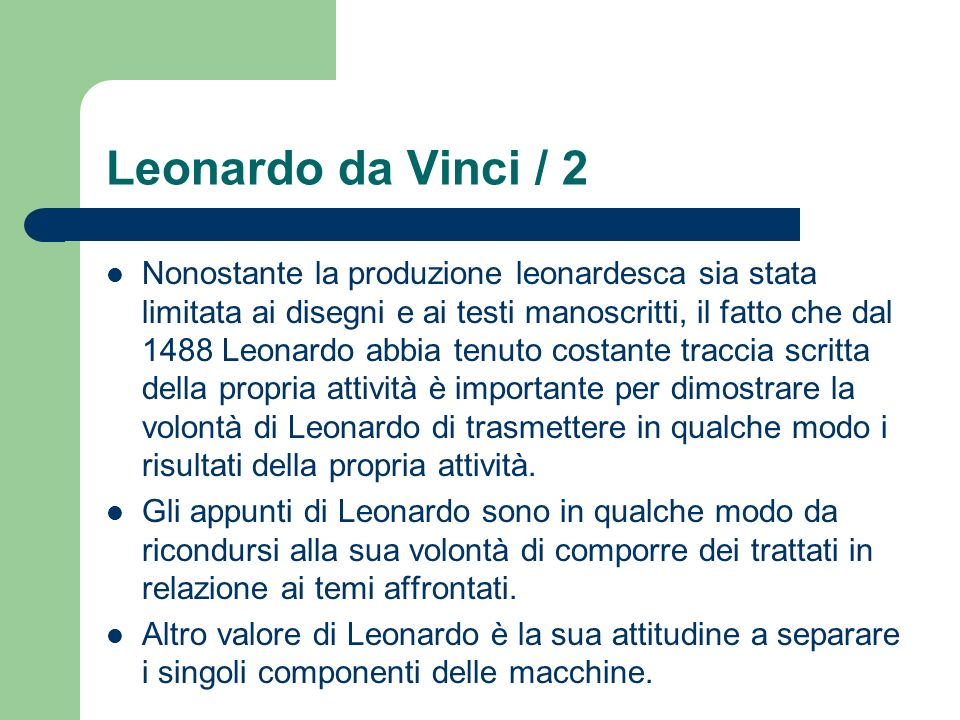Leonardo da Vinci / 2