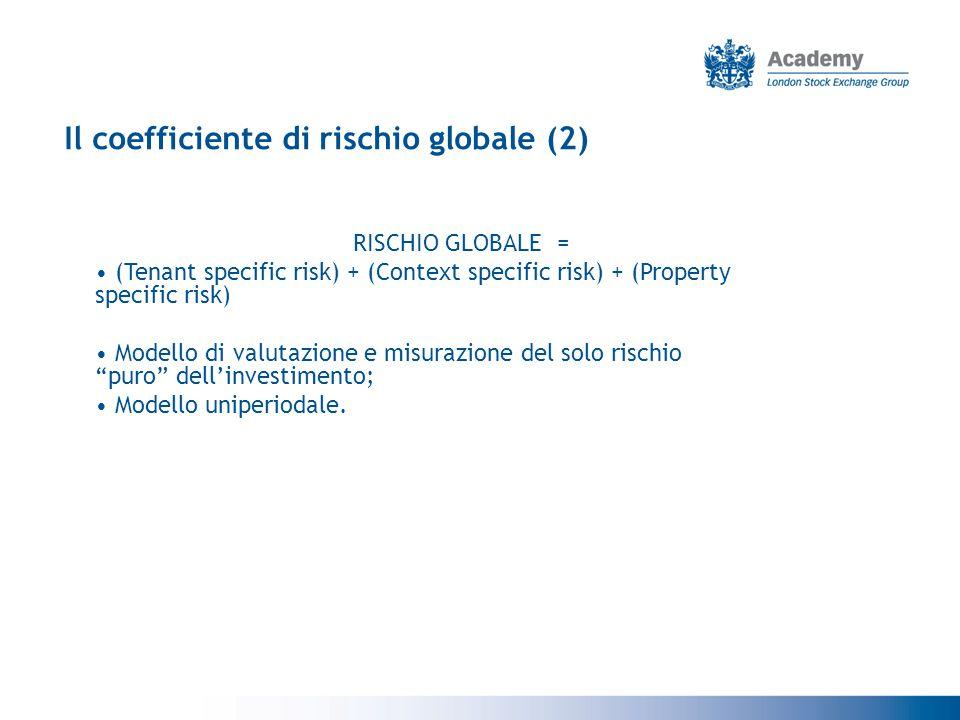 Il coefficiente di rischio globale (2)