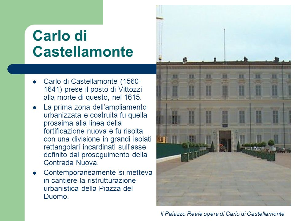 Carlo di Castellamonte