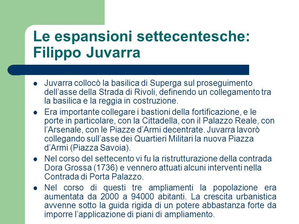 Le espansioni settecentesche: Filippo Juvarra