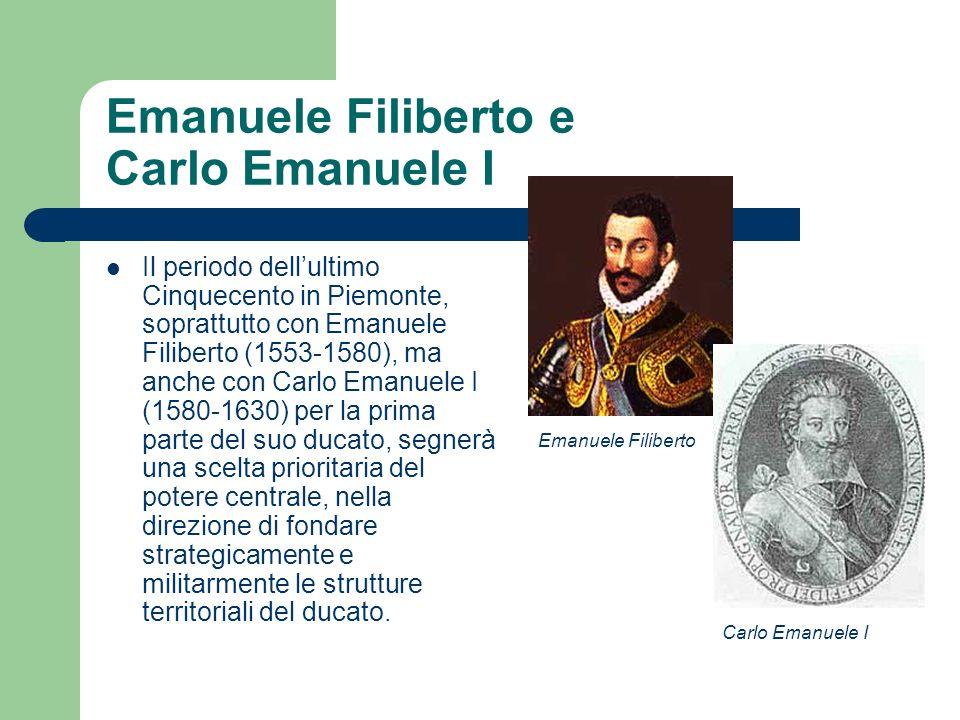 Emanuele Filiberto e Carlo Emanuele I