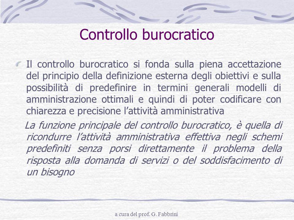 Controllo burocratico