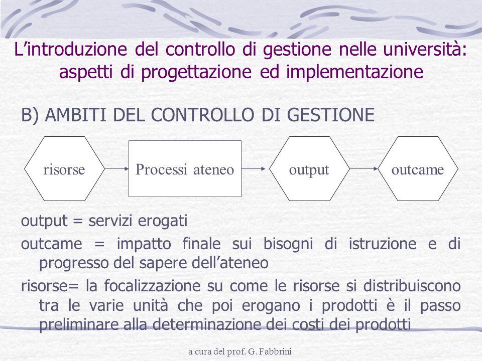 a cura del prof. G. Fabbrini
