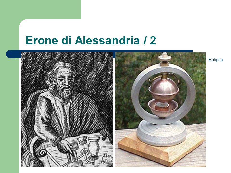 Erone di Alessandria / 2 Eolipila