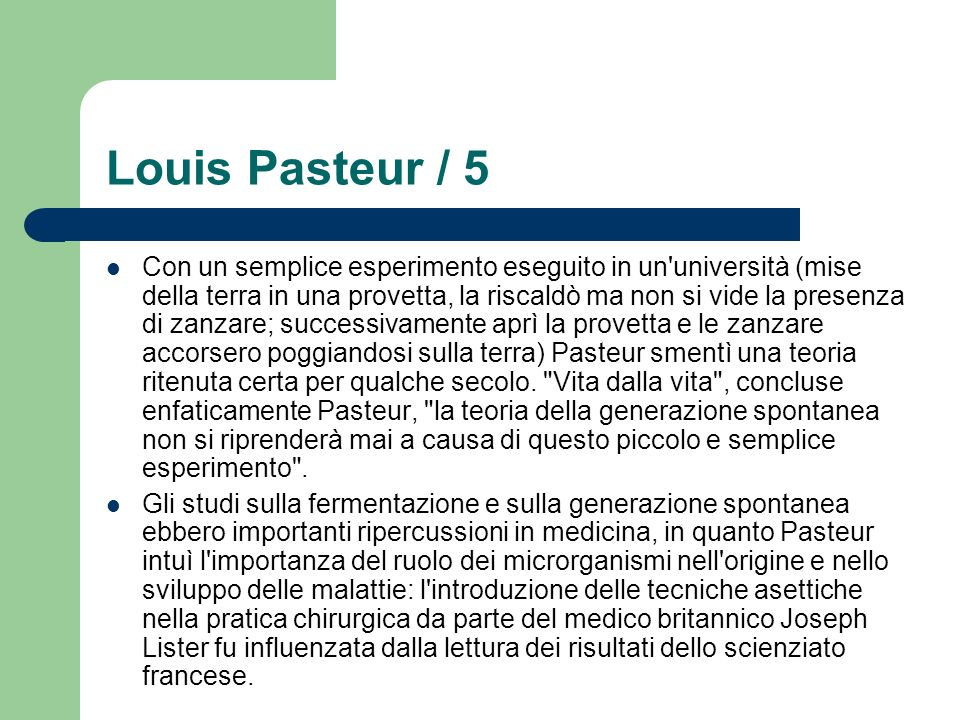 Louis Pasteur / 5