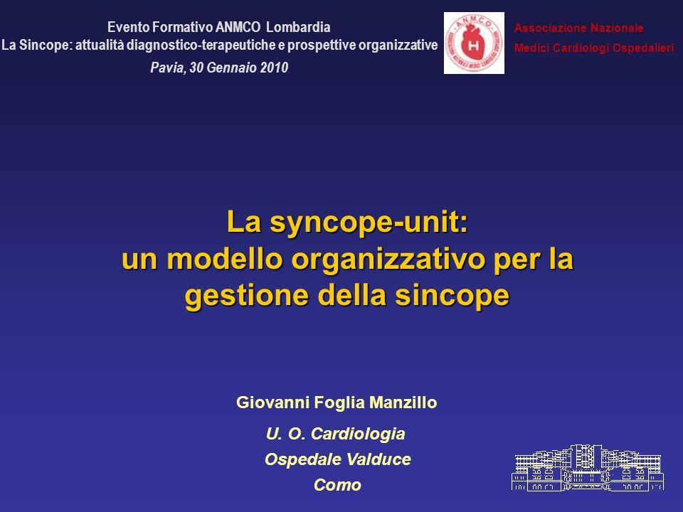 Evento Formativo ANMCO Lombardia Giovanni Foglia Manzillo