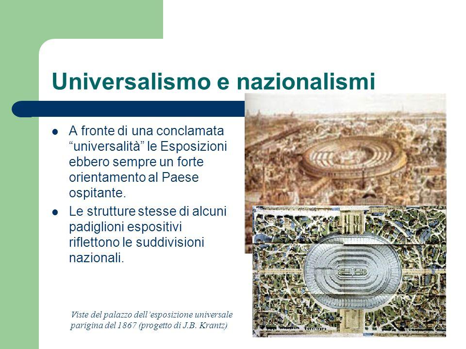 Universalismo e nazionalismi