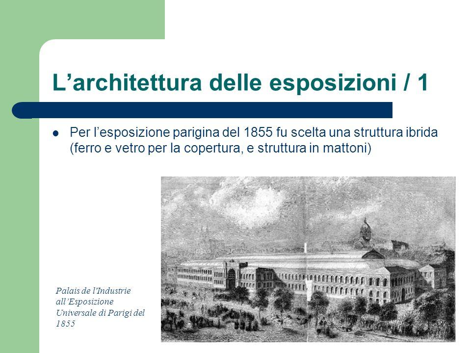 L'architettura delle esposizioni / 1