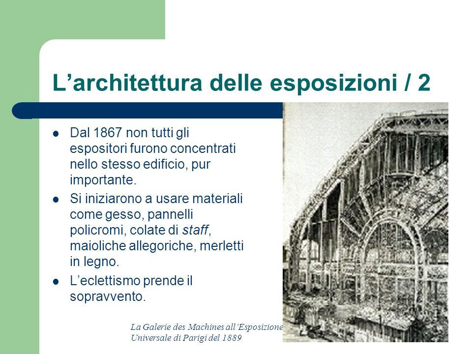 L'architettura delle esposizioni / 2