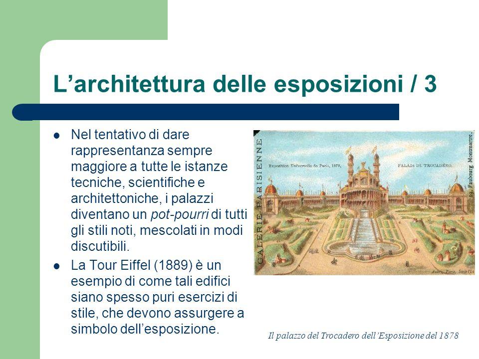 L'architettura delle esposizioni / 3
