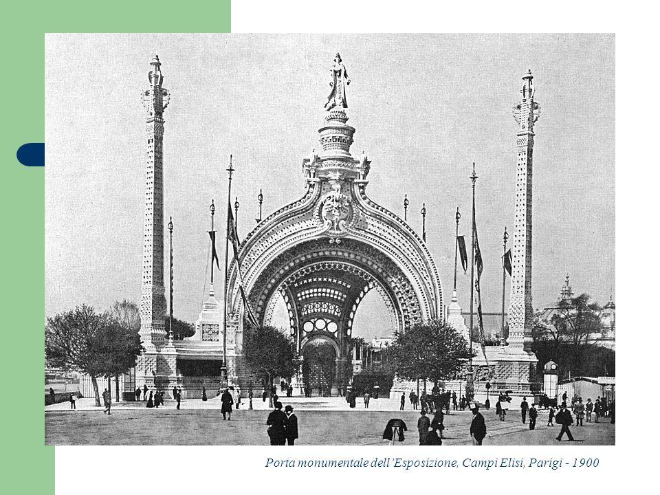 Porta monumentale dell'Esposizione, Campi Elisi, Parigi - 1900