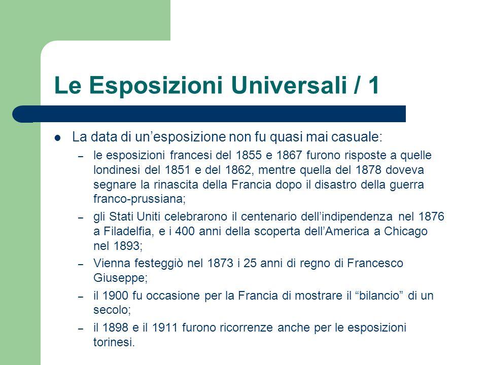 Le Esposizioni Universali / 1