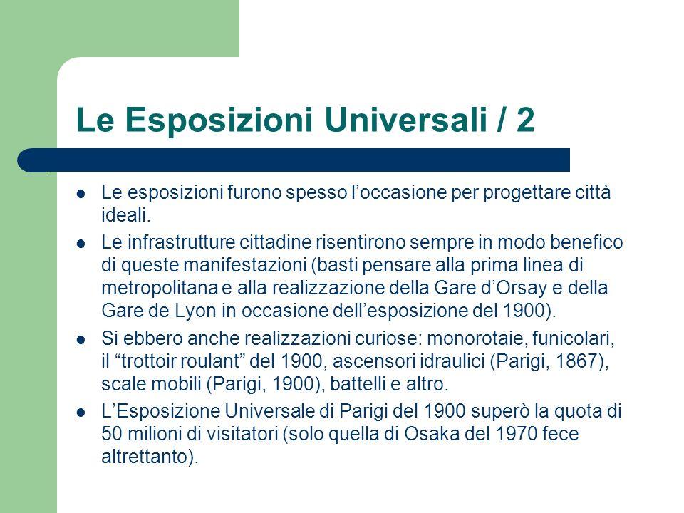 Le Esposizioni Universali / 2
