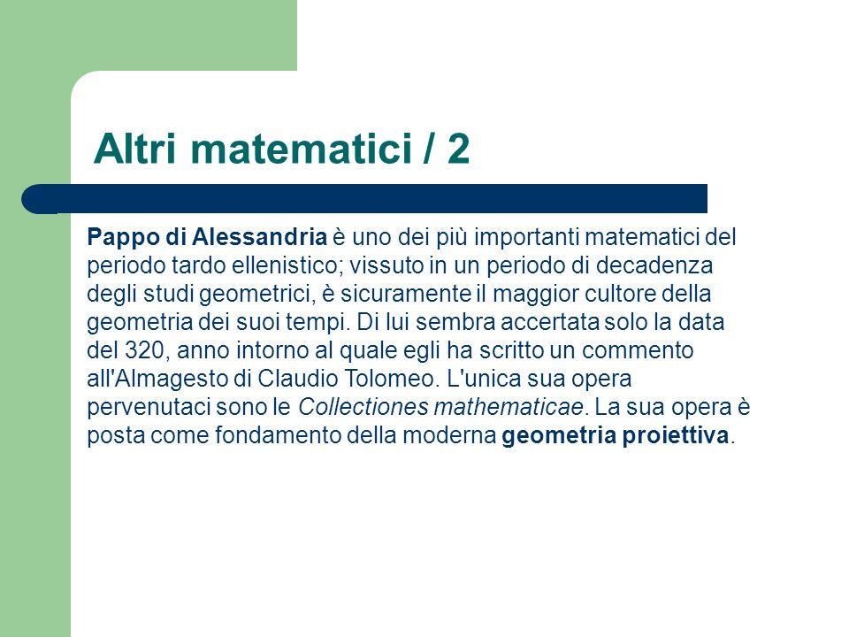 Altri matematici / 2