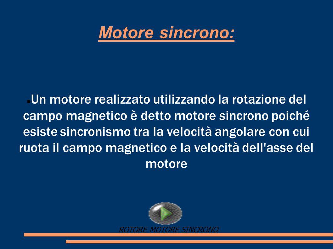 Motore sincrono:
