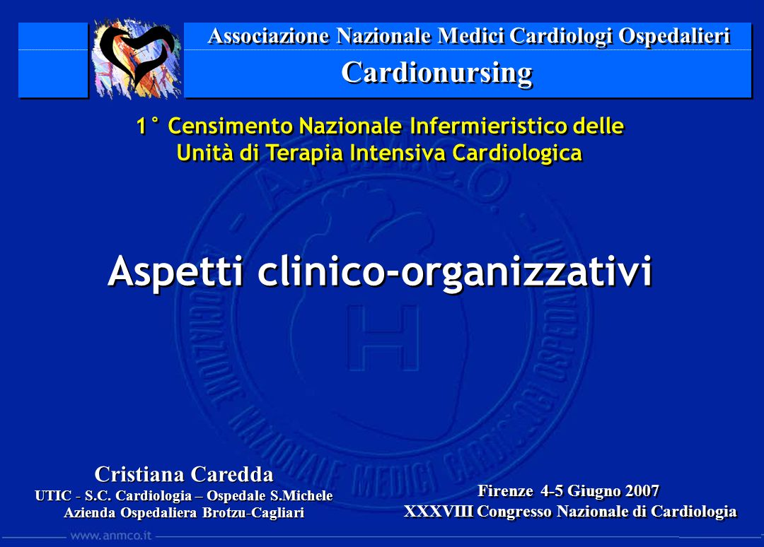Associazione Nazionale Medici Cardiologi Ospedalieri