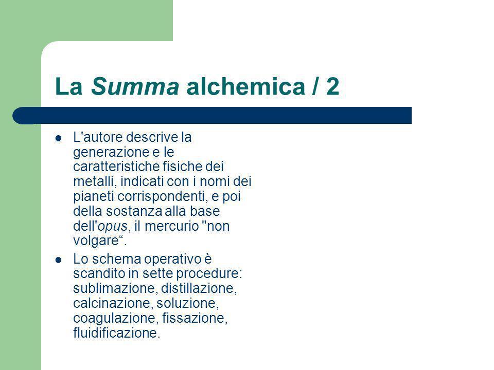 La Summa alchemica / 2