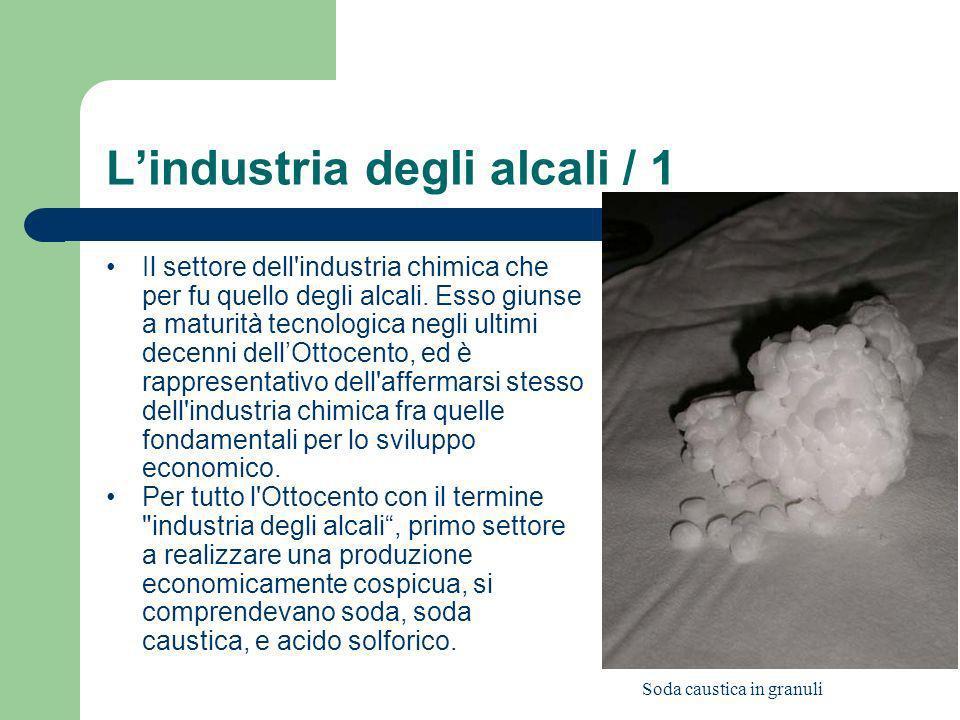 L'industria degli alcali / 1