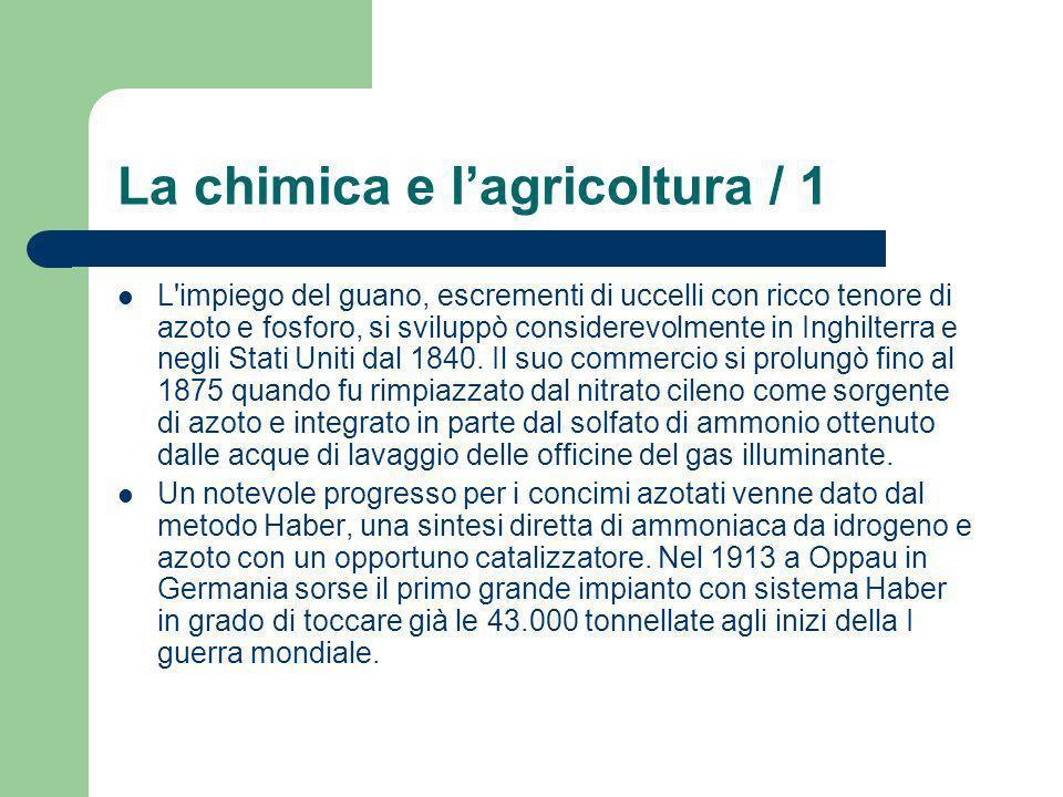 La chimica e l'agricoltura / 1