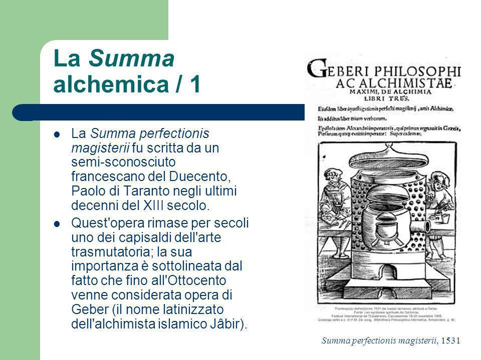 La Summa alchemica / 1