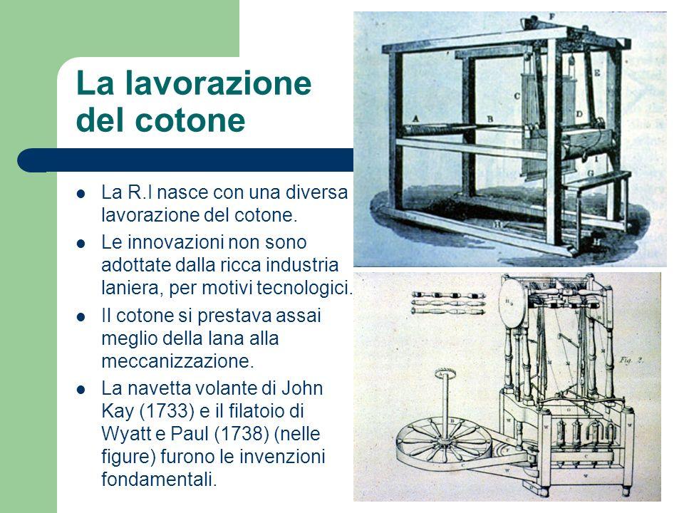 La lavorazione del cotone
