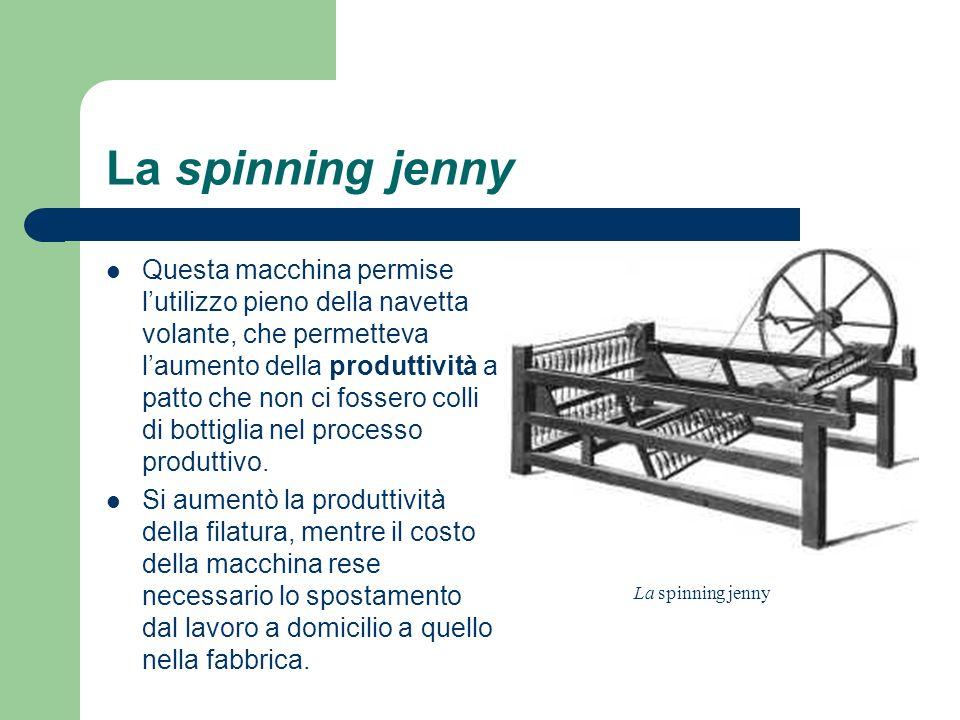 La spinning jenny
