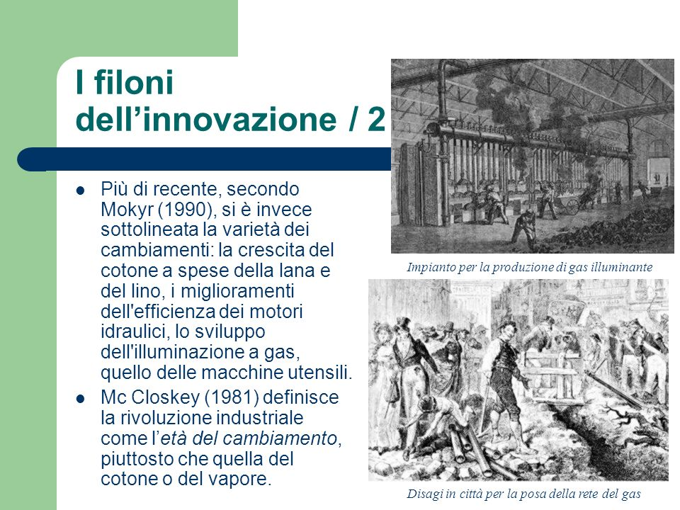I filoni dell'innovazione / 2