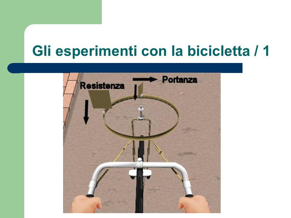 Gli esperimenti con la bicicletta / 1