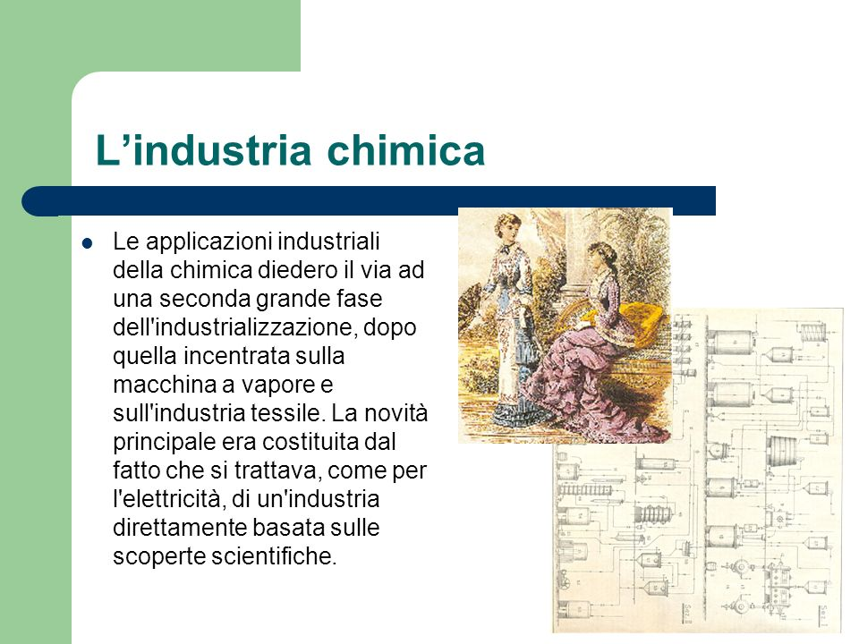 L'industria chimica