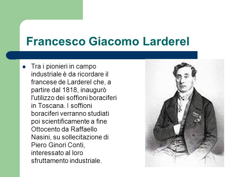 Francesco Giacomo Larderel