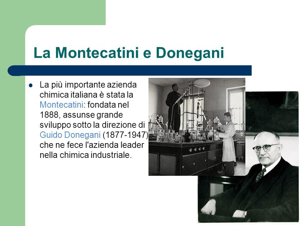 La Montecatini e Donegani