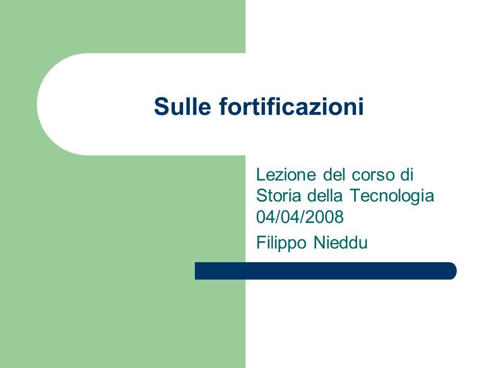 Lezione del corso di Storia della Tecnologia 04/04/2008 Filippo Nieddu
