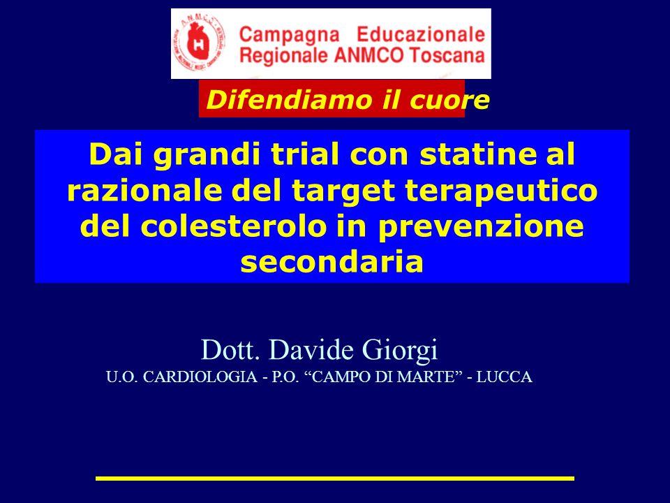 U.O. CARDIOLOGIA - P.O. CAMPO DI MARTE - LUCCA