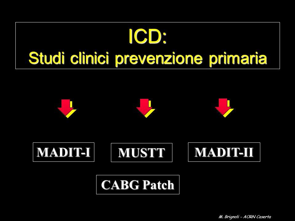 ICD: Studi clinici prevenzione primaria